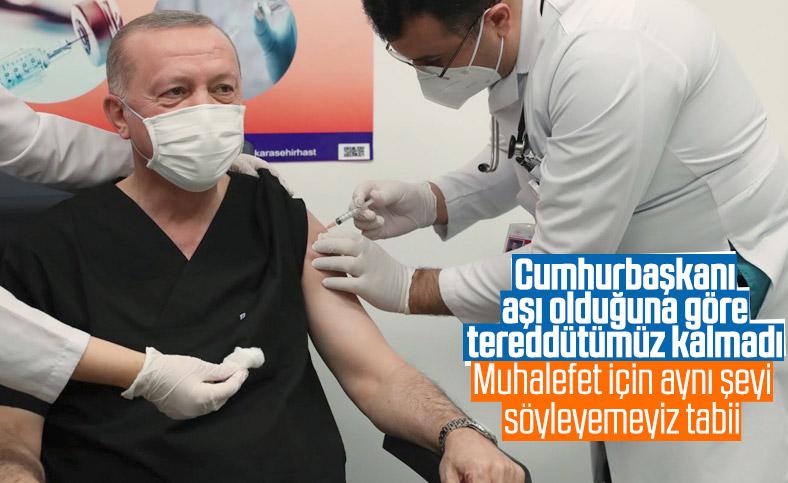 Cumhurbaşkanı Erdoğan, koronavirüs aşısı yaptırdı