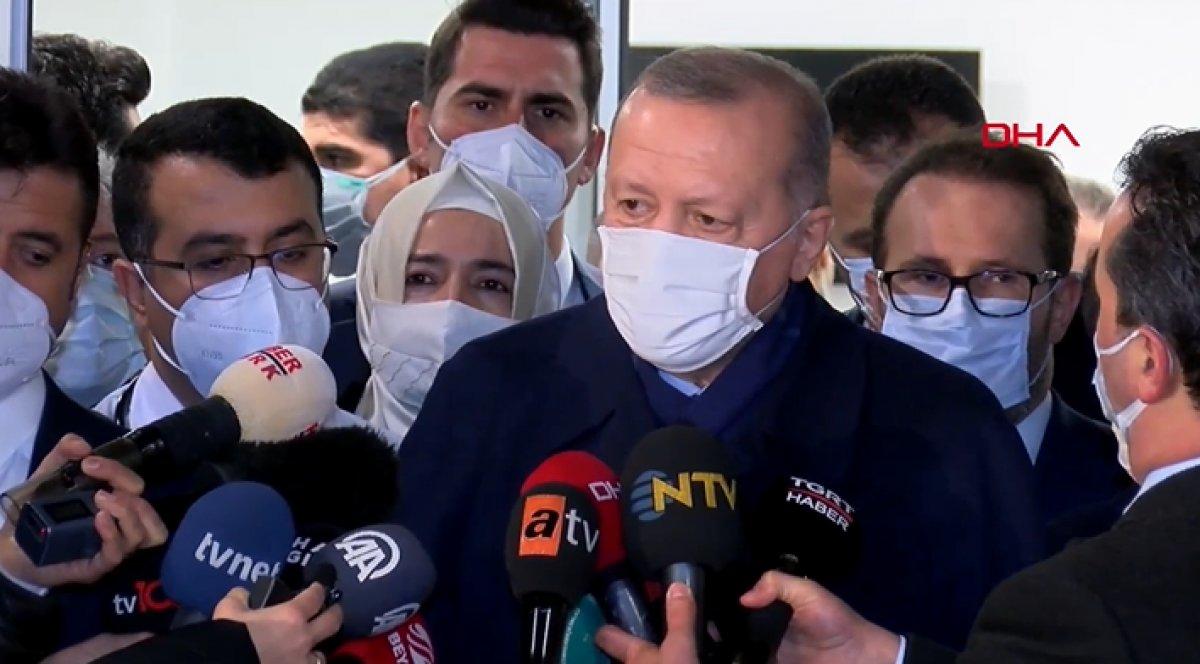 Cumhurbaşkanı Erdoğan: 25-30 milyon doz daha aşı gelecek #1