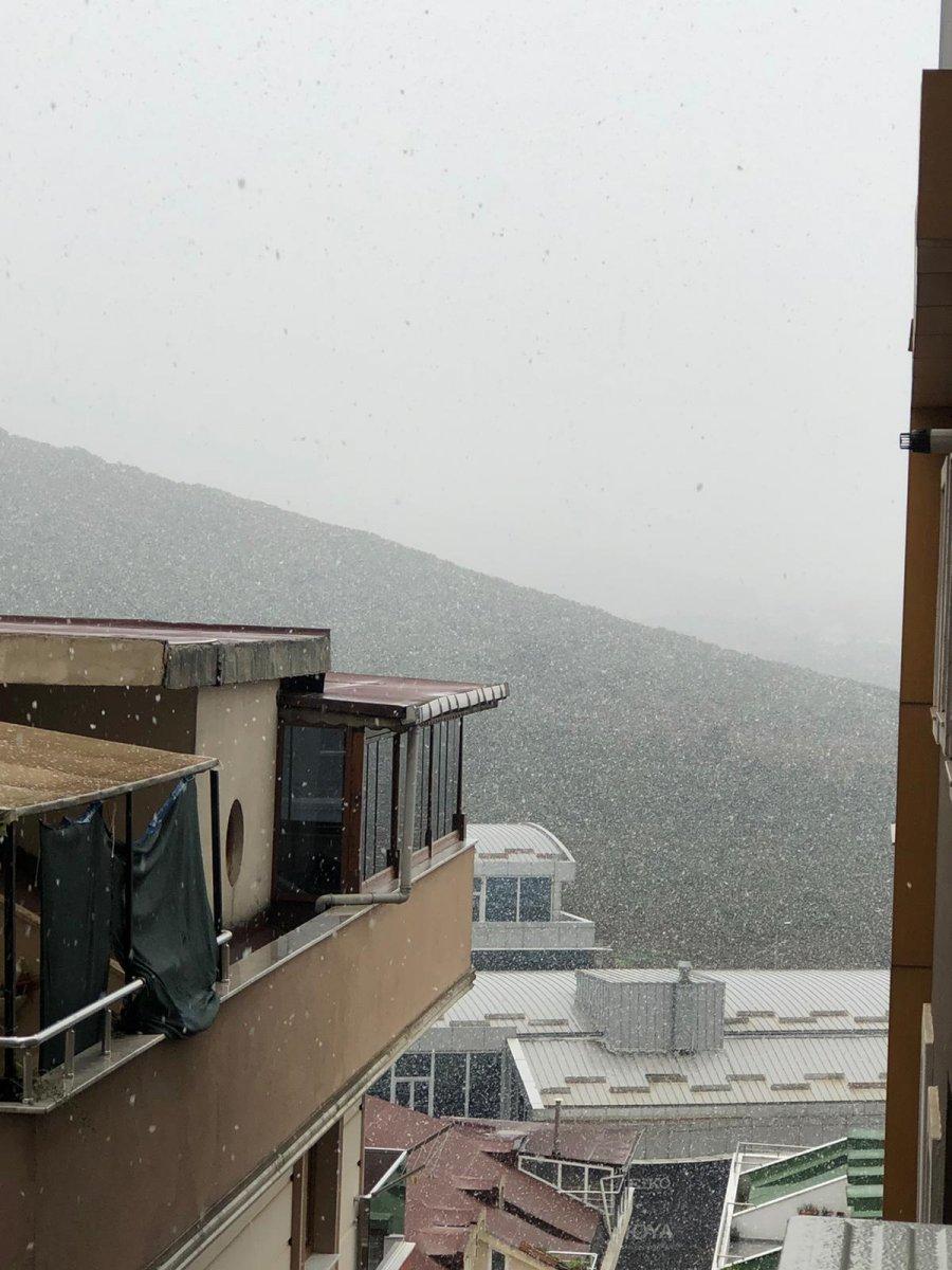 İstanbul da beklenen kar yağışı başladı #5