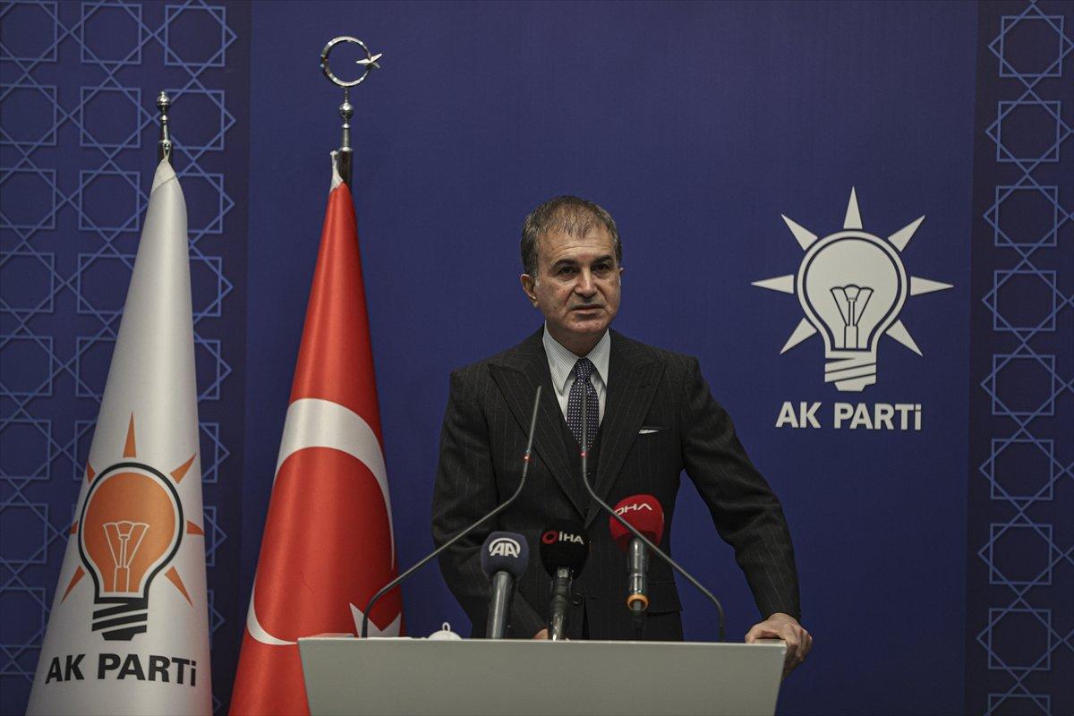 Ömer Çelik, Kılıçdaroğlu nun   sözde cumhurbaşkanı  ifadesini değerlendirdi #4