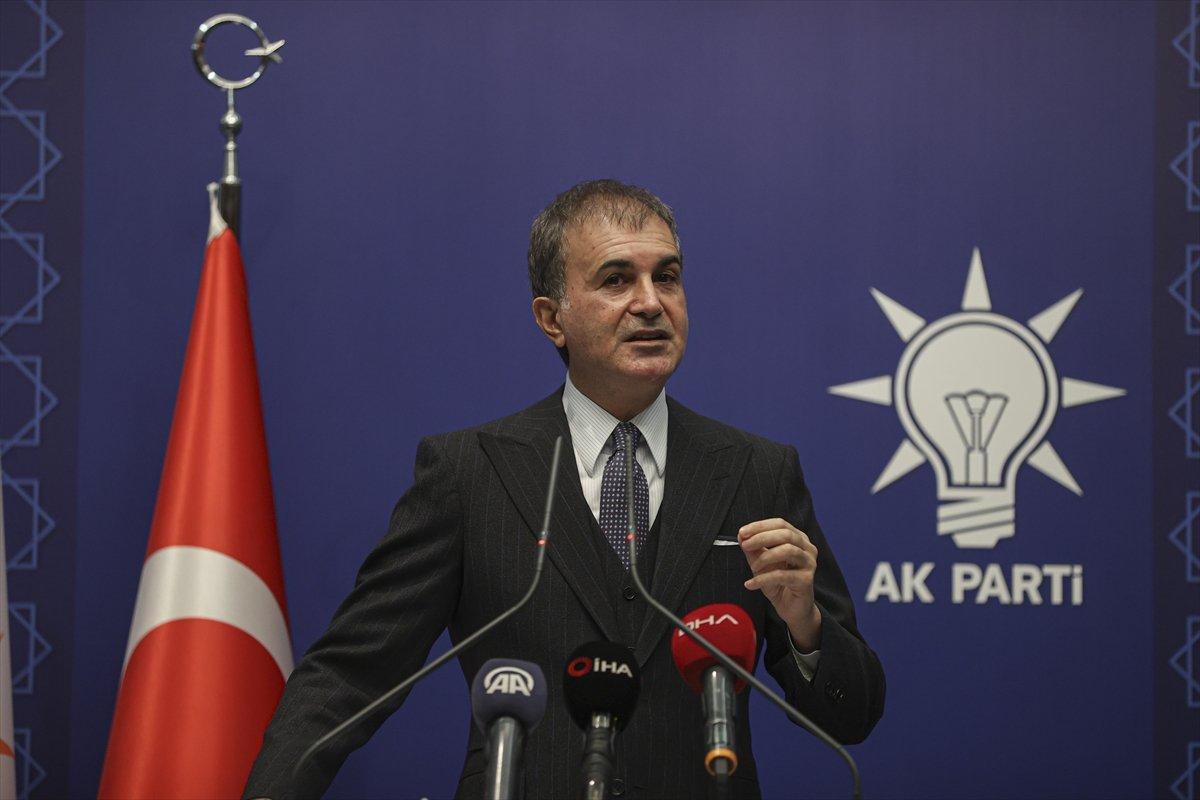 Ömer Çelik, Kılıçdaroğlu nun   sözde cumhurbaşkanı  ifadesini değerlendirdi #1