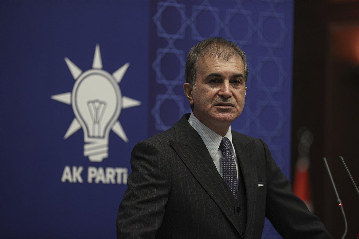 Ömer Çelik, Kılıçdaroğlu nun   sözde cumhurbaşkanı  ifadesini değerlendirdi #3