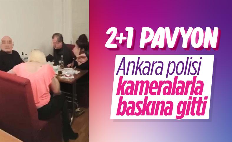 Ankara'da evi pavyona çevirdiler