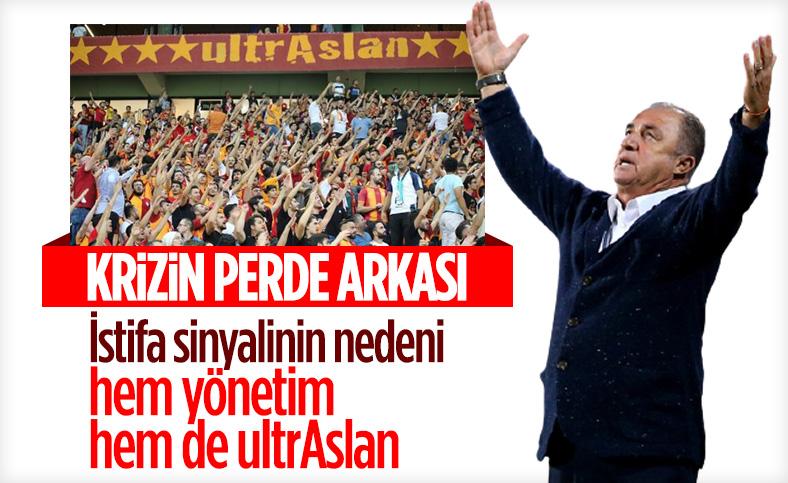 ultrAslan'ın açıklaması Fatih Terim'i kızdırdı