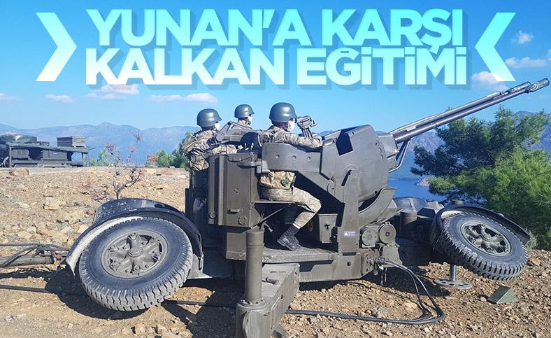 TSK'dan İzmir'de hava savunma eğitimi