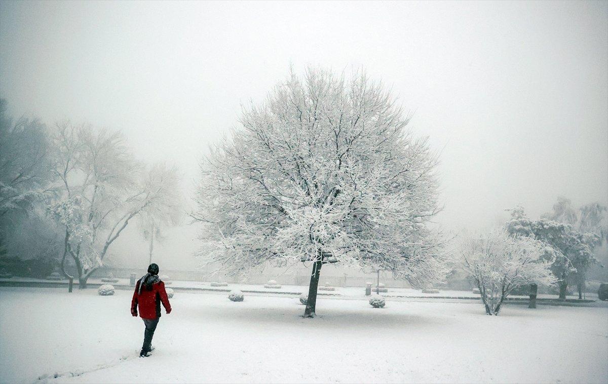 Kar etkisine giren Türkiye de 5 günlük hava durumu #2