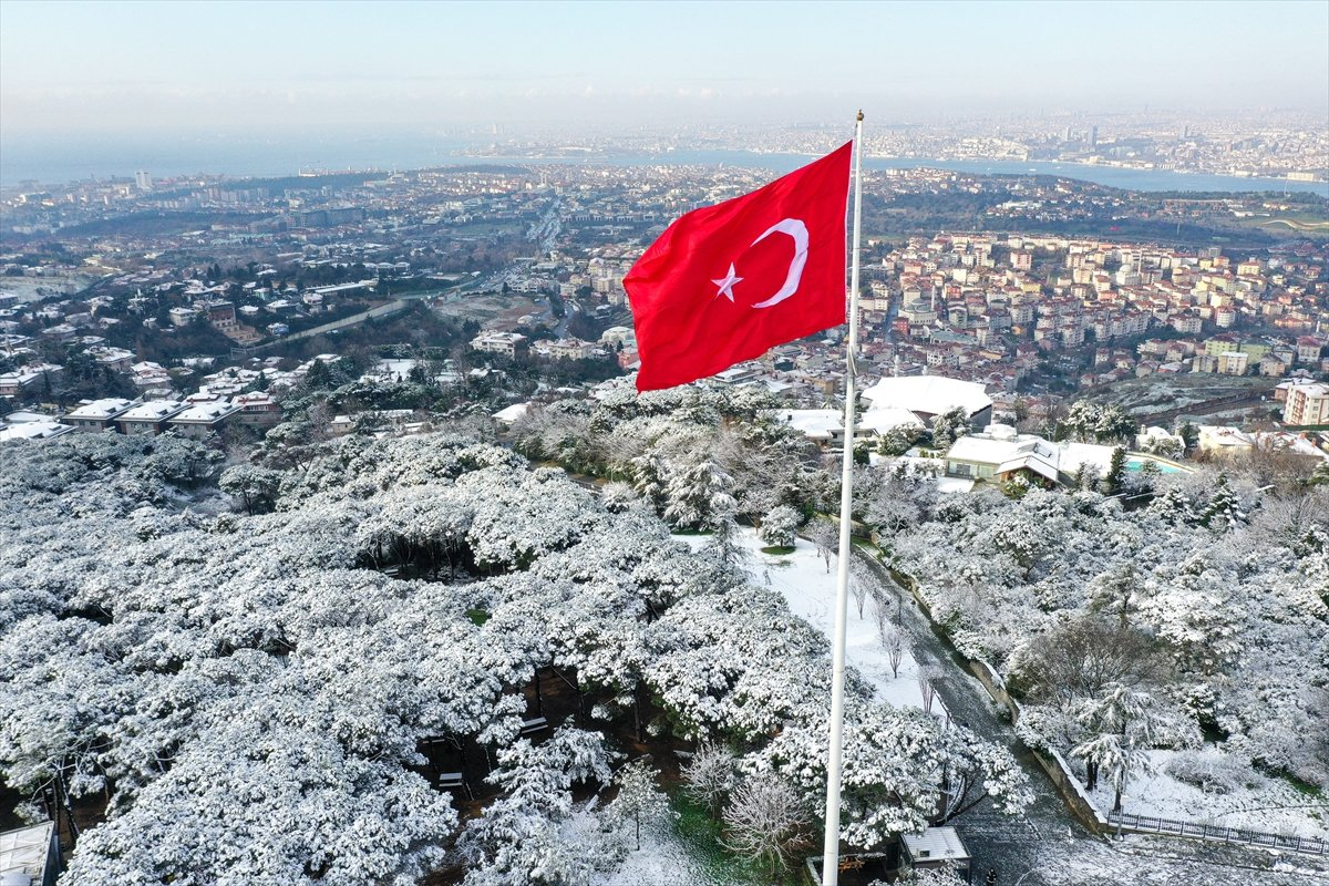 İstanbul da hafta sonu yoğun kar yağışı bekleniyor #1
