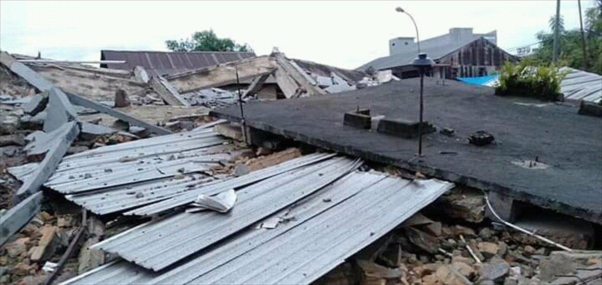 Endonezya da 6,2 büyüklüğünde deprem #7
