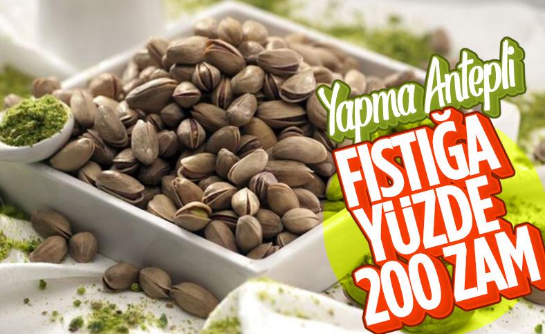 Gaziantep'ten çıkan fıstık fiyatlarında yüzde 200 artış bekleniyor