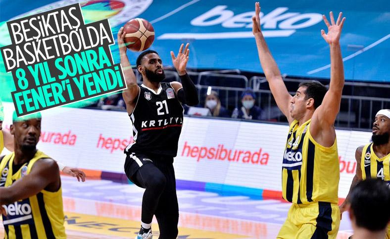 Beşiktaş, Fenerbahçe'yi 9 sayı farkla yendi