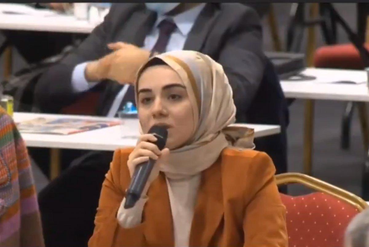 Kübranur Uslu'nun İBB Meclisi'nde yaptığı konuşma CHP'yi susturdu