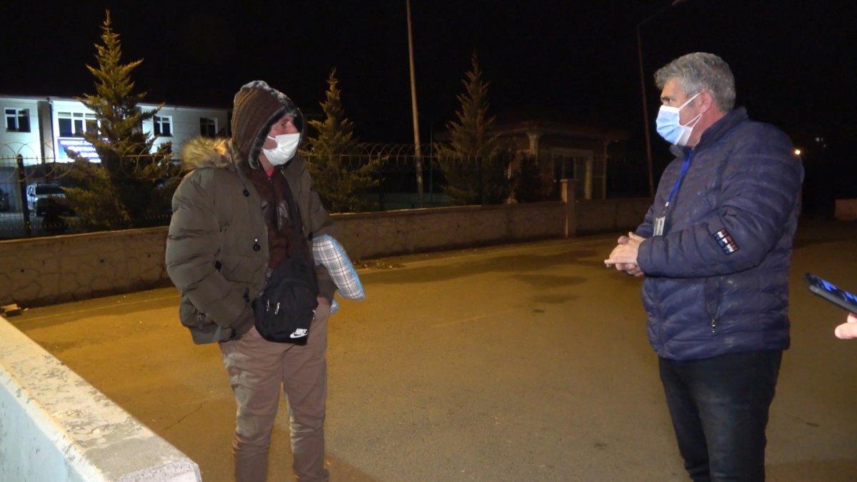 Kırıkkale de riskli grupta yer alan bir kişi seyahat ederken yakalandı #1