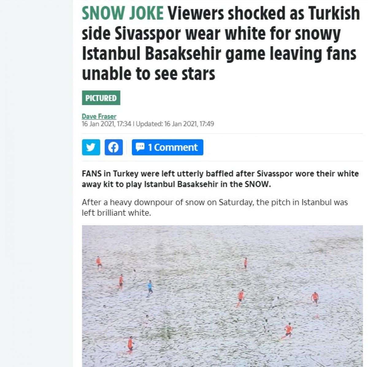 Başakşehir-Sivasspor maçı Avrupa basınında #4