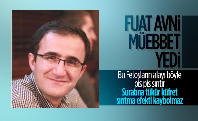'Fuat Avni' hesabının kullanıcısına müebbet hapis cezası verildi