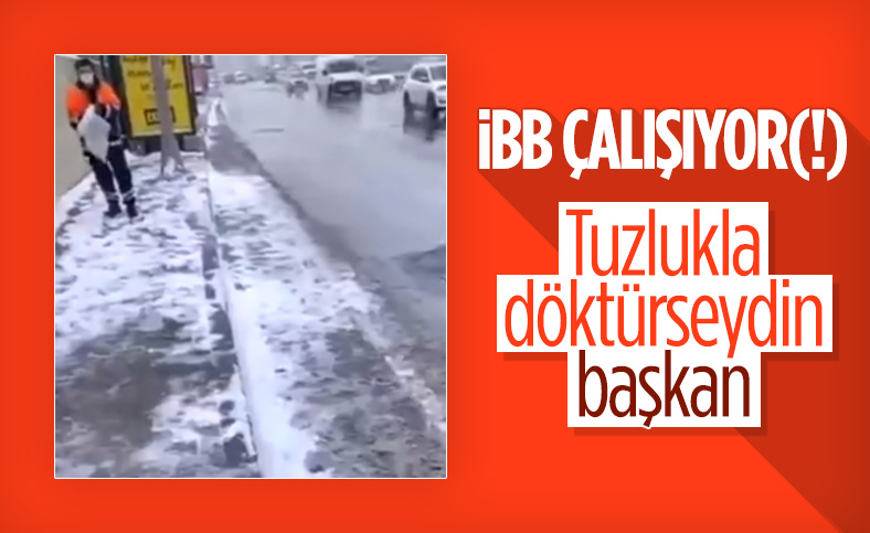 İstanbul'da tepki toplayan tuzlama işlemi