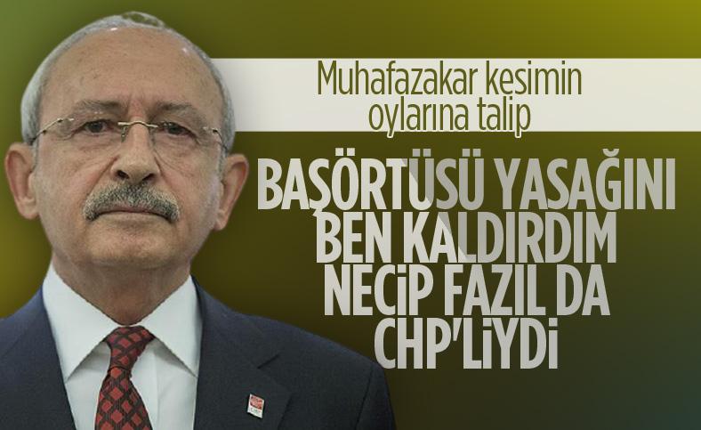 Kemal Kılıçdaroğlu: CHP muhafazakar partidir