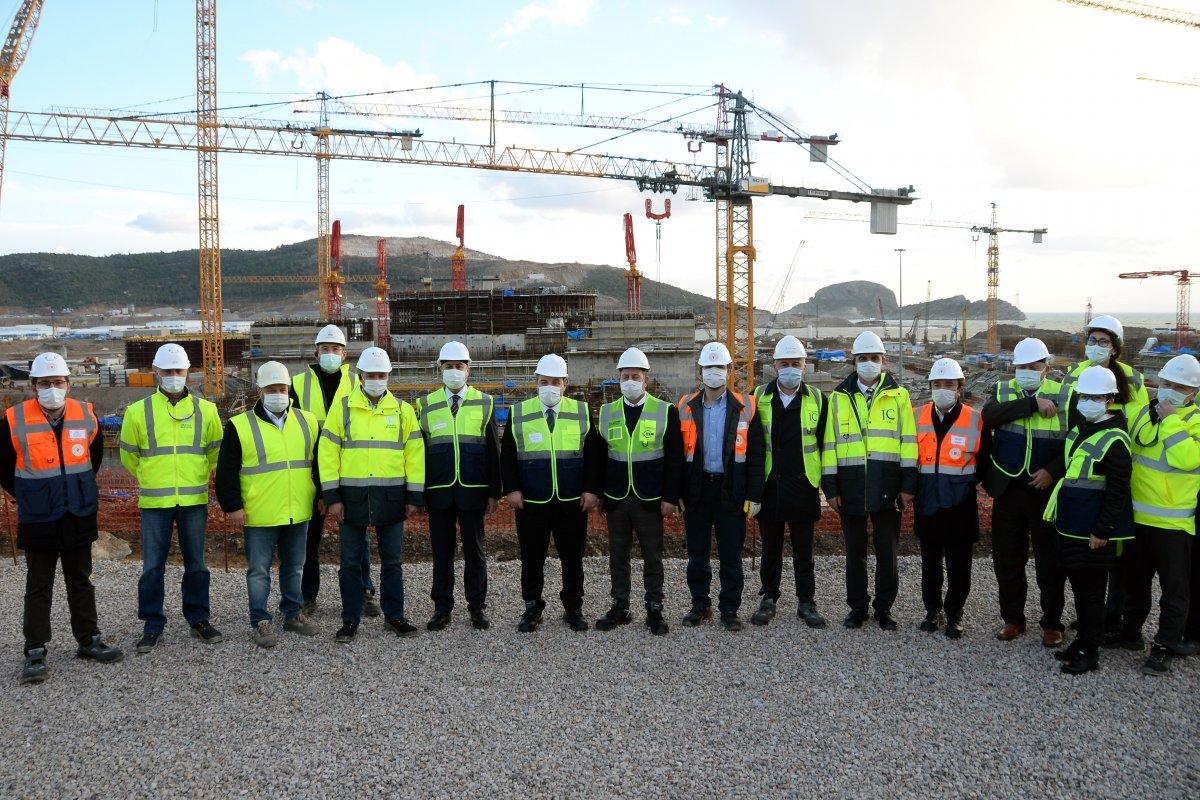 Mustafa Varank: Akkuyu, 2023'te elektrik üretmeye başlayacak #5