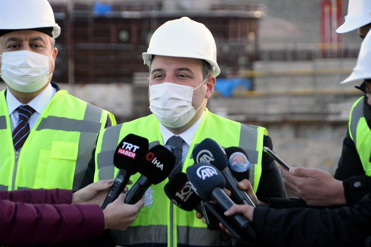 Mustafa Varank: Akkuyu, 2023'te elektrik üretmeye başlayacak #6