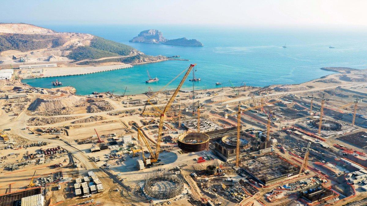 Mustafa Varank: Akkuyu, 2023'te elektrik üretmeye başlayacak #3
