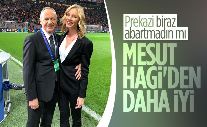 Cevad Prekazi: Mesut, Hagi'den daha iyi