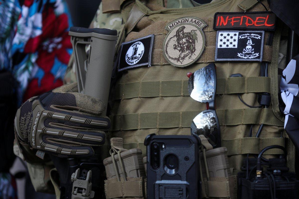 ABD'de silahlı gruplar, Lobi Günü için sokaklara indi #4