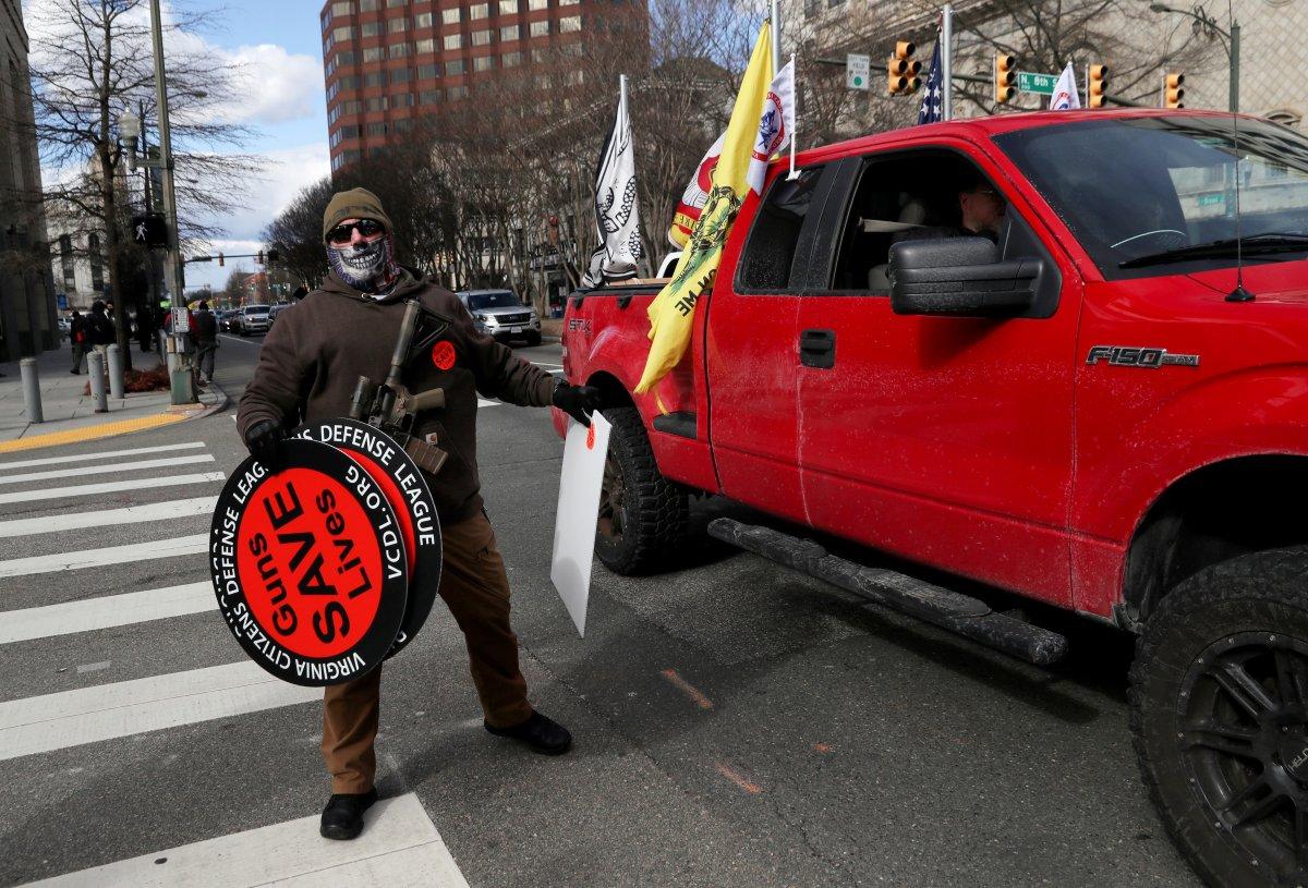 ABD'de silahlı gruplar, Lobi Günü için sokaklara indi #11