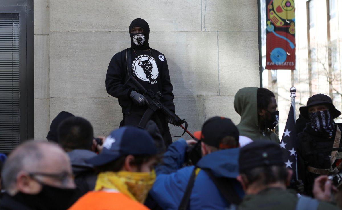 ABD'de silahlı gruplar, Lobi Günü için sokaklara indi #7