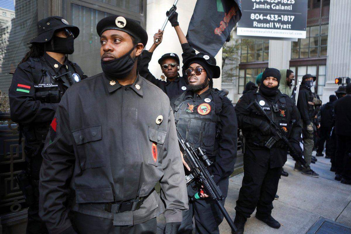 ABD'de silahlı gruplar, Lobi Günü için sokaklara indi #6