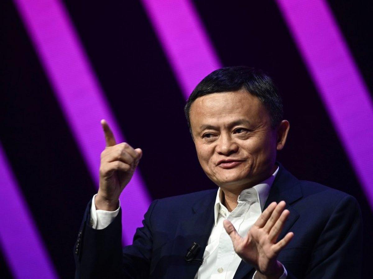 Alibaba nın kurucusu Jack Ma aylar sonra ortaya çıktı #1