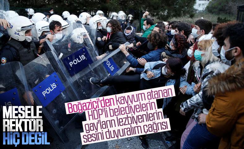 Boğaziçi'den HDP ve LGBT için protesto çağrısı