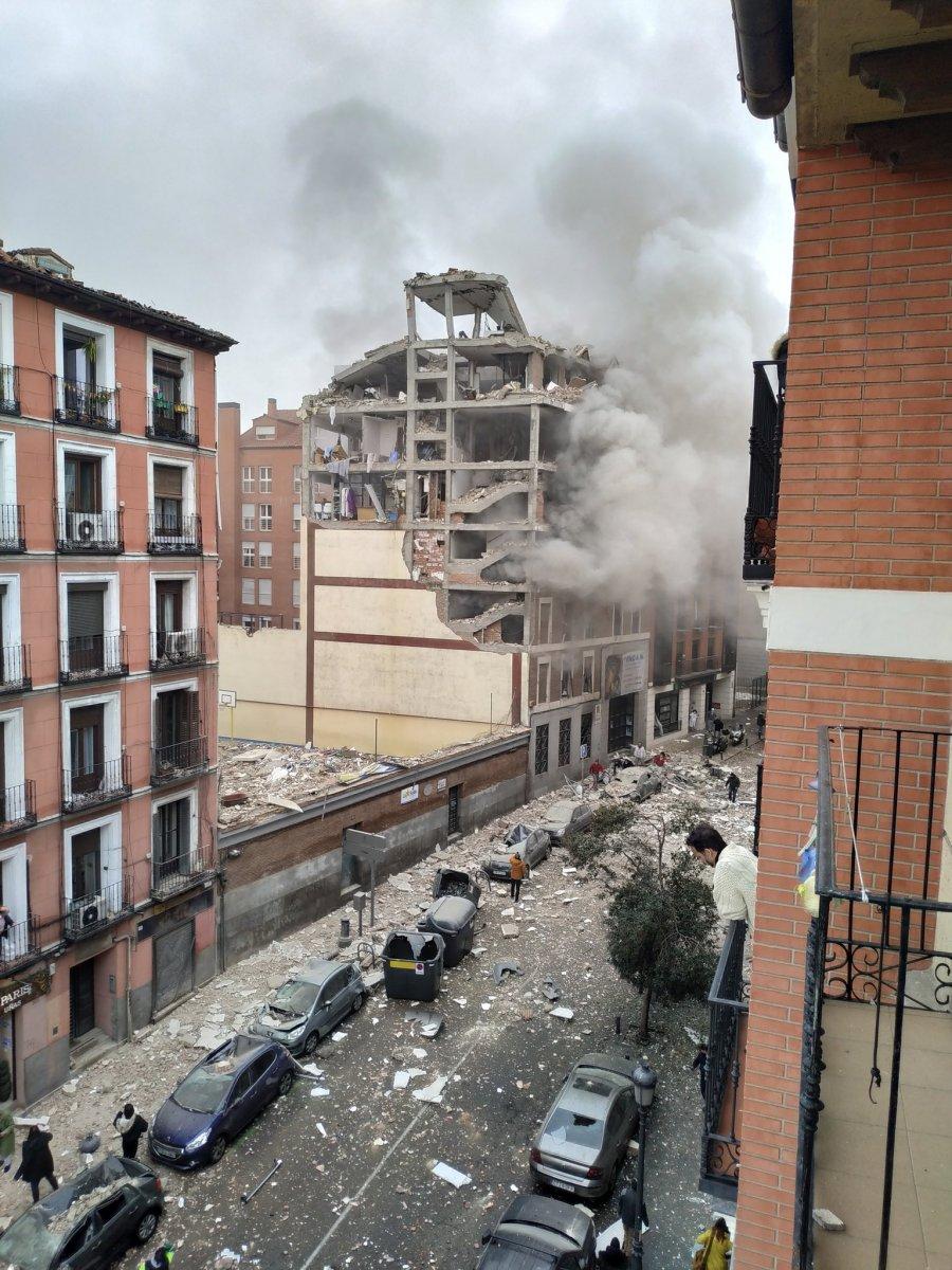 İspanya da şiddetli patlama #3