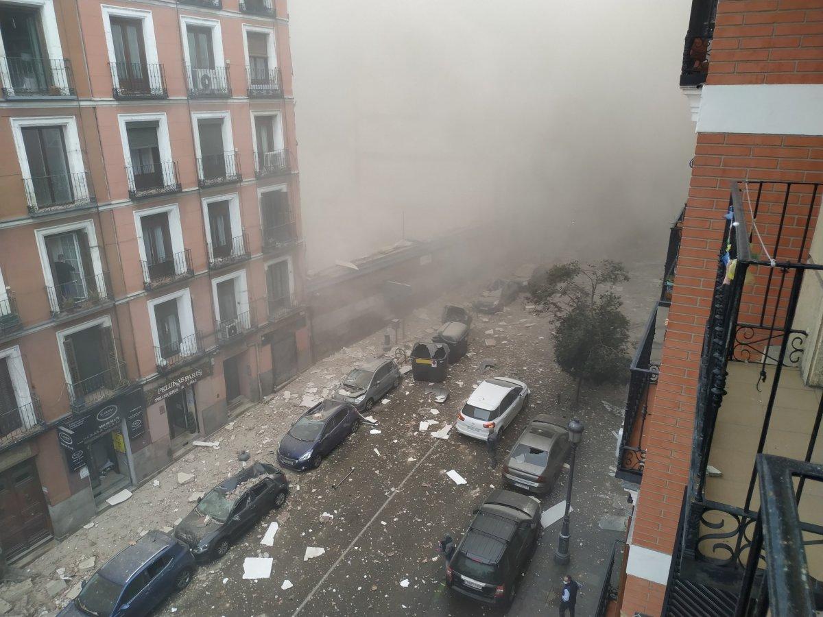 İspanya da şiddetli patlama #1