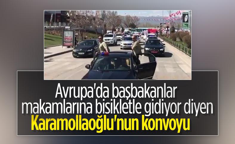 Temel Karamollaoğlu: Avrupa'da başbakanlar makamlarına bisikletle gidiyor