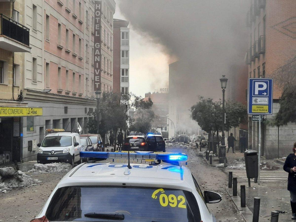 İspanya da şiddetli patlama #7