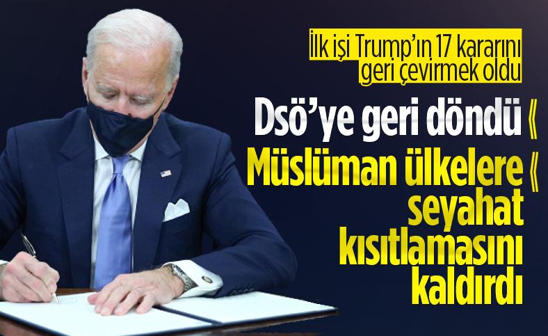 Biden, başkanlık kararnamelerini imzaladı