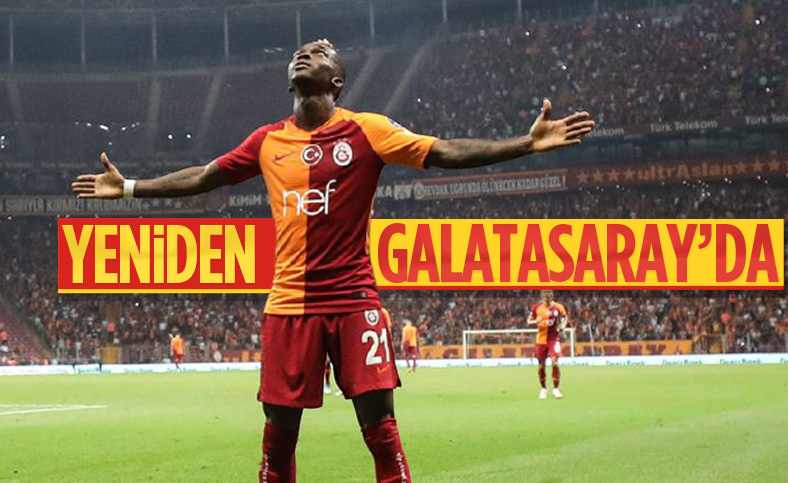 Onyekuru, yeniden Galatasaray'da