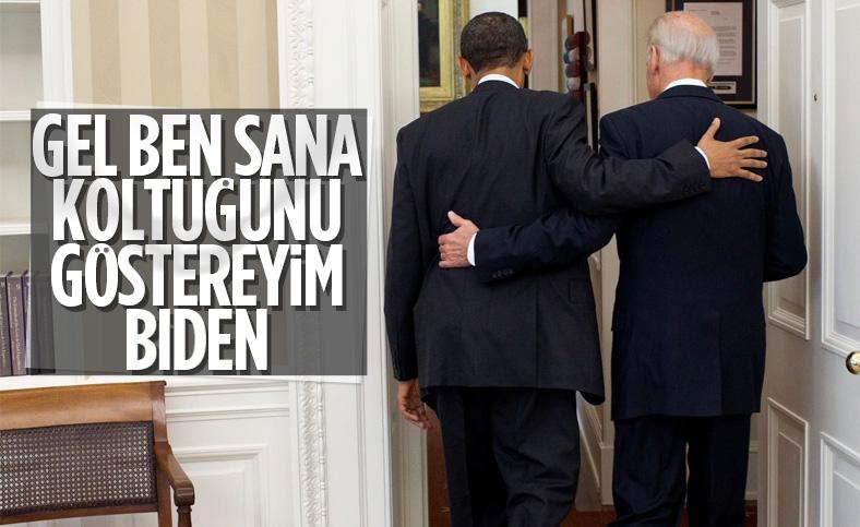 Eski ABD Başkanı Obama'dan Biden'a: Sıra sende