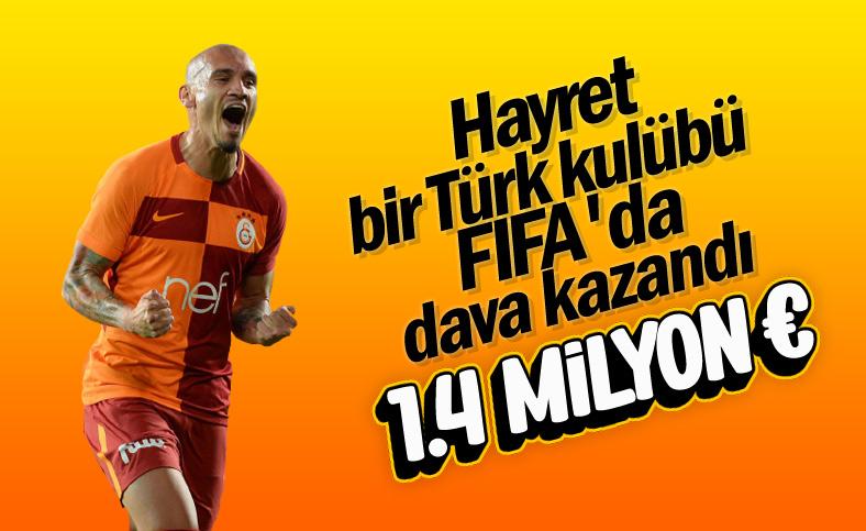 FIFA, Maicon davasında Galatasaray'ı haklı buldu