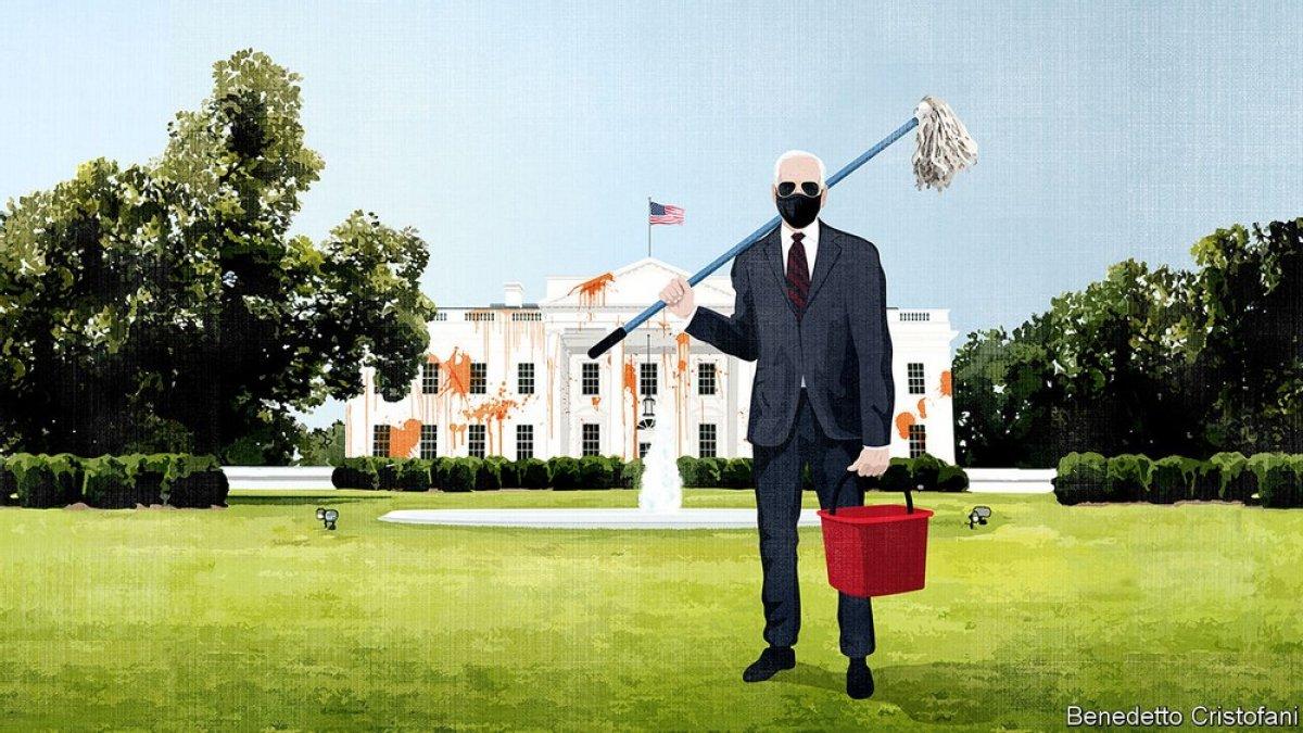 Economist: Amerika nın görüntüsü korkunç #1