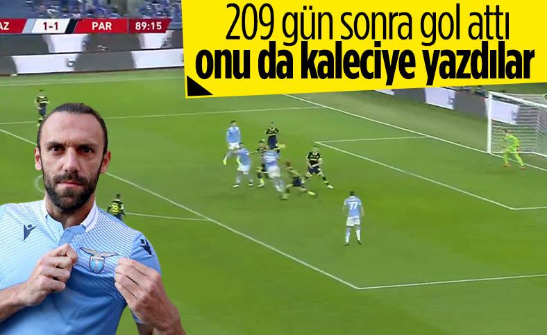 Vedat Muriç'in Parma'ya attığı gol kaleciye yazıldı
