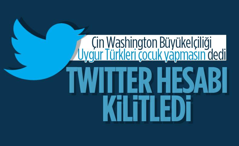Twitter, Çin'in Washington Büyükelçiliğinin hesabını kilitledi