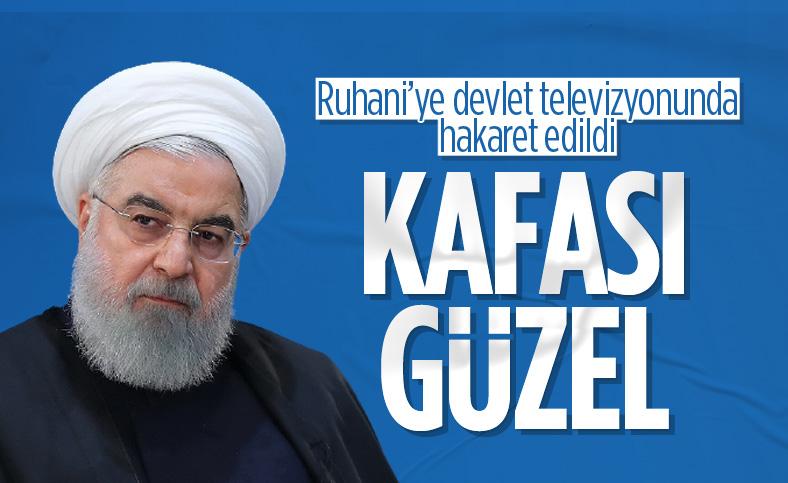 İran'da Ruhani'ye devlet televizyonunda hakaret