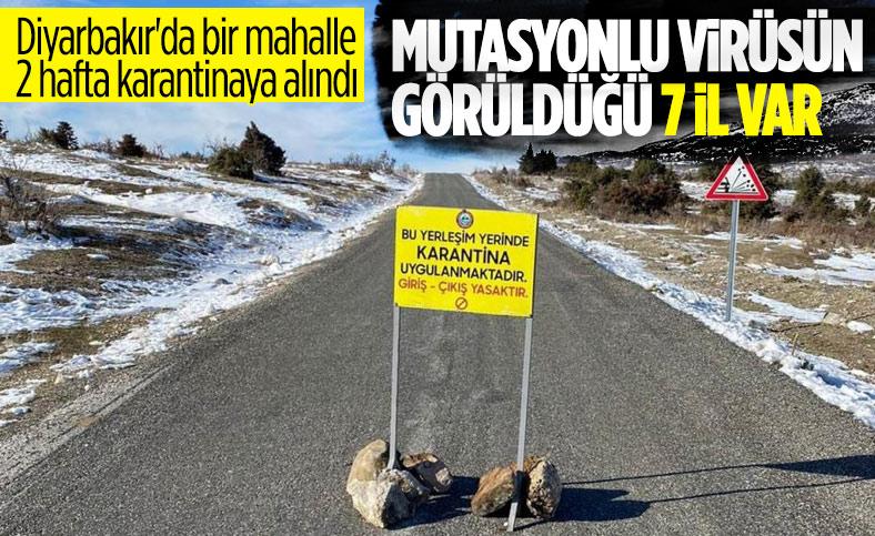 Diyarbakır'da mutasyonlu virüs tespit edildi