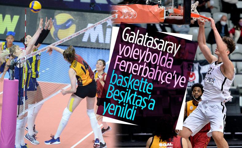 Fenerbahçe, voleybolda Galatasaray'ı rahat yendi