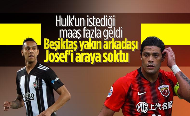 Beşiktaş, Hulk transferinde Josef'i araya soktu