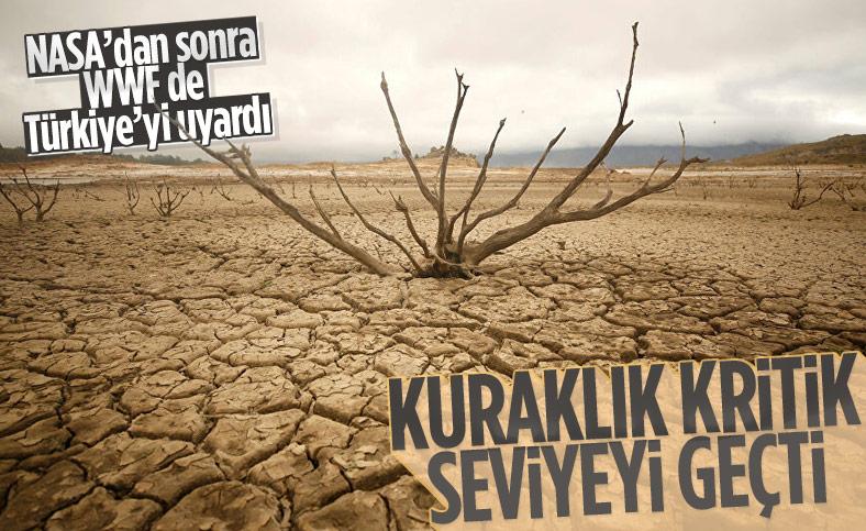 WWF'den Türkiye'ye uyarı: Kuraklık kritik seviyeyi geçti