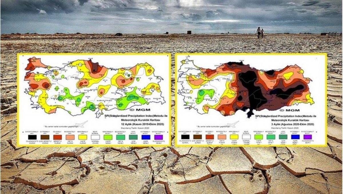 WWF den Türkiye ye uyarı: Kuraklık kritik seviyeyi geçti #7