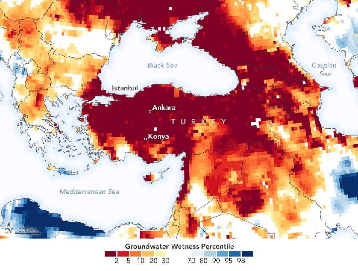 WWF den Türkiye ye uyarı: Kuraklık kritik seviyeyi geçti #6