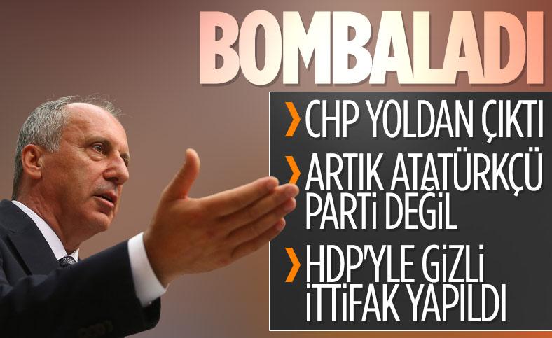 Muharrem İnce: CHP yoldan çıktı