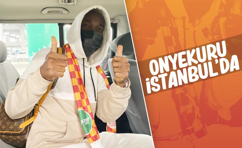 Onyekuru İstanbul'da